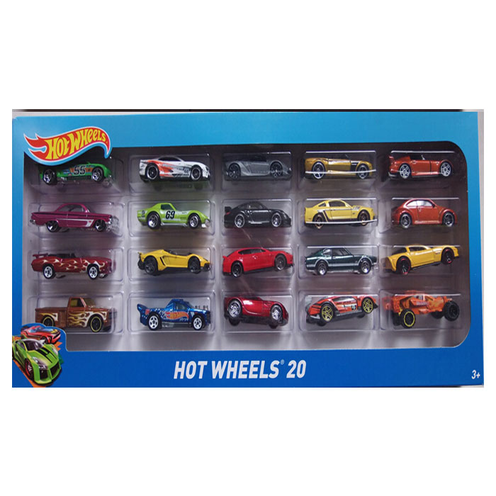 Automobil HW Basic set 20 buc. H7045