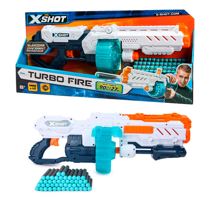 Бластер X-shot Turbo Fire 36270