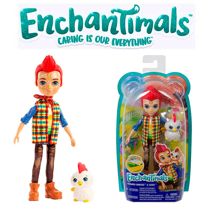 Doll Enchantimals Redward Rooster GJX39